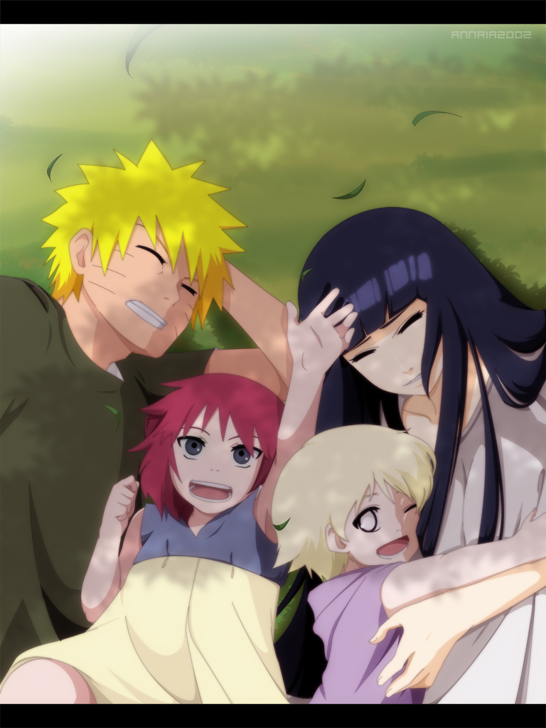 CM:Naruhina Family by annria2002