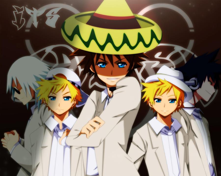 Sora's Band Feat. Riku by annria2002