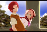 Sasori and Sakura