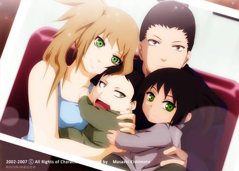 ShikaHima: A family Picture