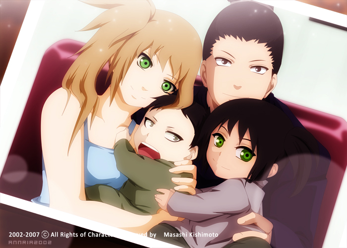 ShikaHima: A family Picture by annria2002 on DeviantArt