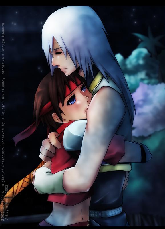 Riku and Seiya: Embrace by annria2002