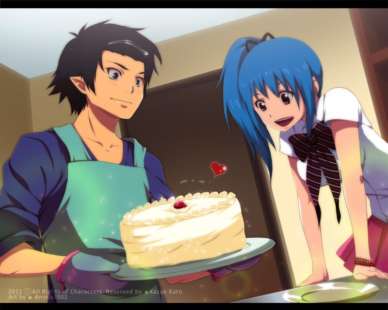 Cake Time by annria2002