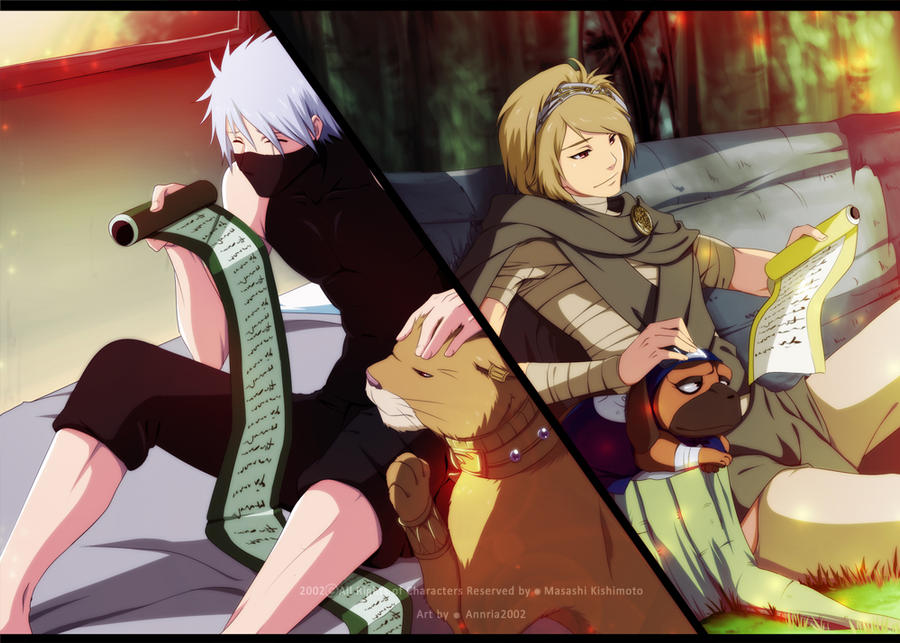 Kakashi and Ryu : Distance by annria2002