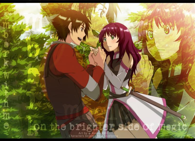 SAO: Hotaru and Yoshio by annria2002