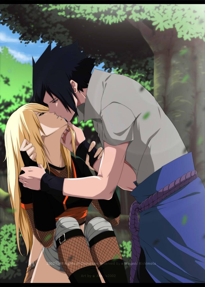 Yuuki and Sasuke by annria2002