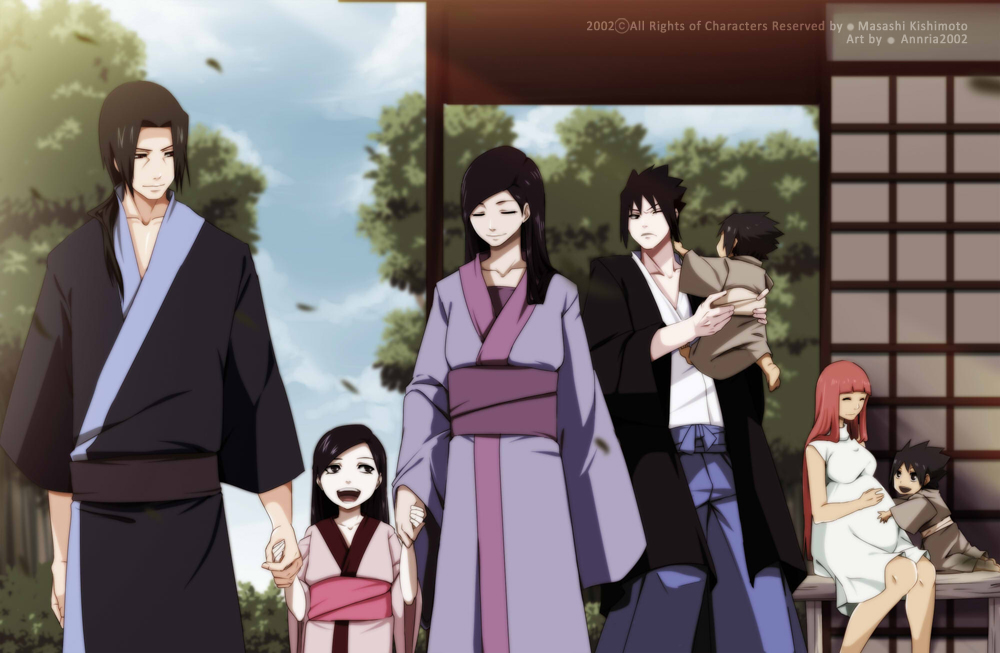 Uchiha Household by annria2002
