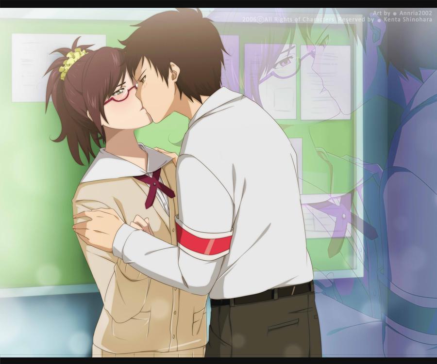 Sket Dance: Sasuke Tsubaki and Kikuno Asahina by annria2002