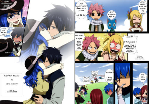 Gruvia week: Did you just say Quiche?