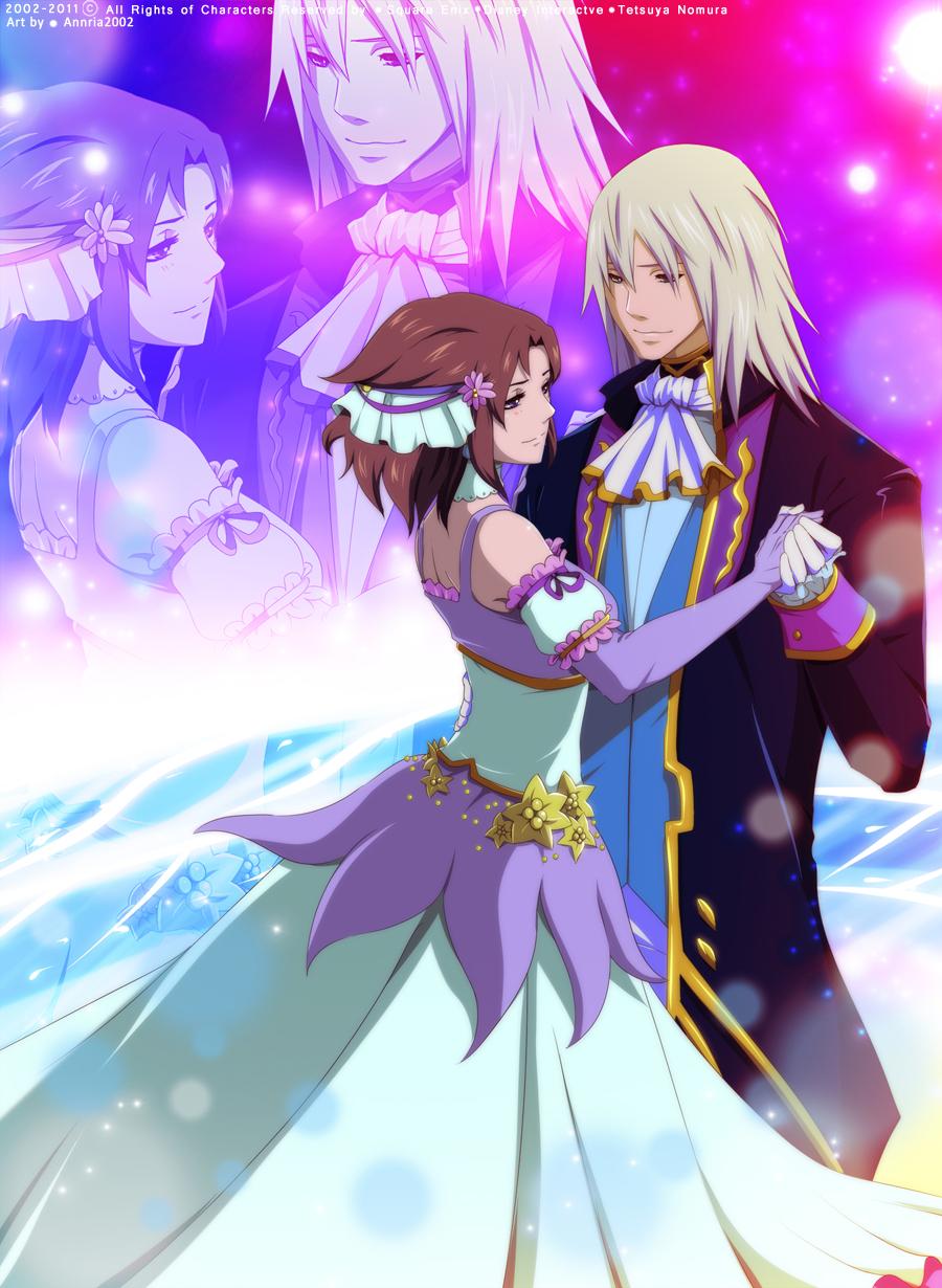 Riku and Nozomi by annria2002