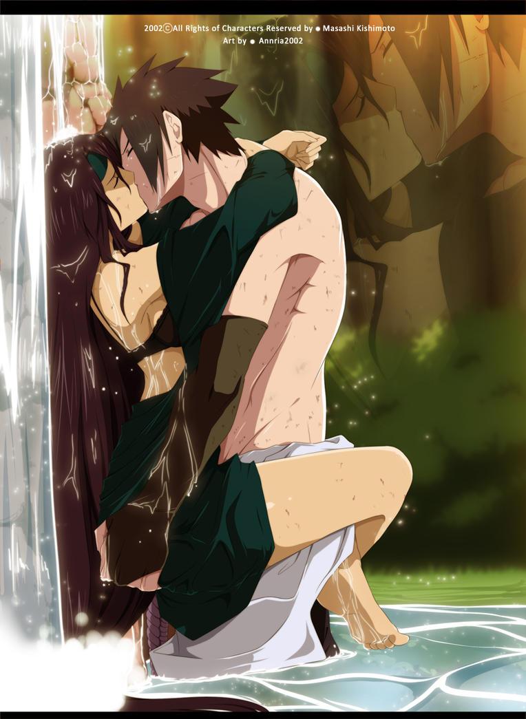 Sasuke and Mahina by annria2002