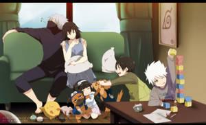 Kakashi and Shirahime: Family Time