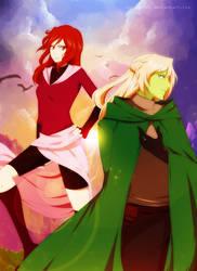 Alran and Teya