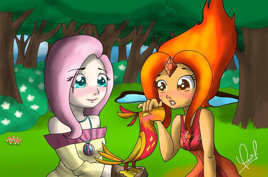 Fire bird by Zorbitas