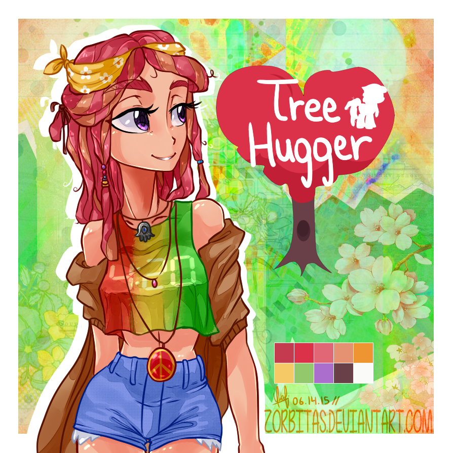 Tree Hugger - Human by Zorbitas