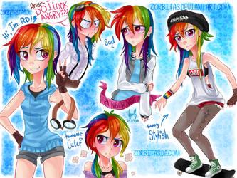 Human-RainbowDash-Thing by deactivated-zorbitas