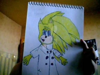 Gordon Ramsay The Hedgehog by gunbladechick101