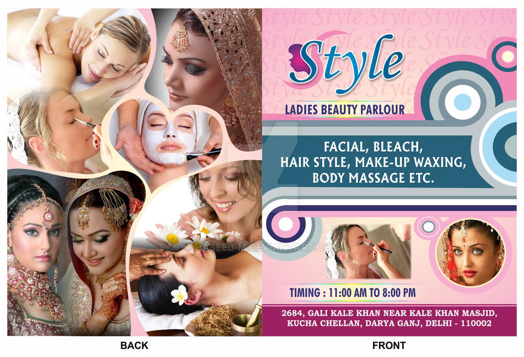 Style Ladies Beauty Parlour Brochure By Haseeb-m On DeviantArt