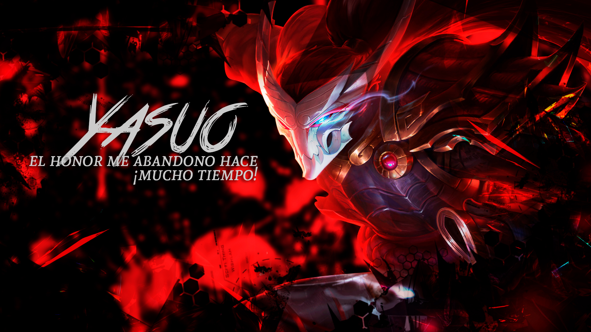 Wallpaper Yasuo League Of Legends By Dead07