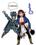 Kajika U2 VS Cell Jr U17 by superchiaragirl