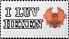 I LUV HEXEN stamp by watanukikun
