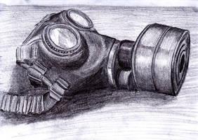 Gas Mask by RED-SCOTCH