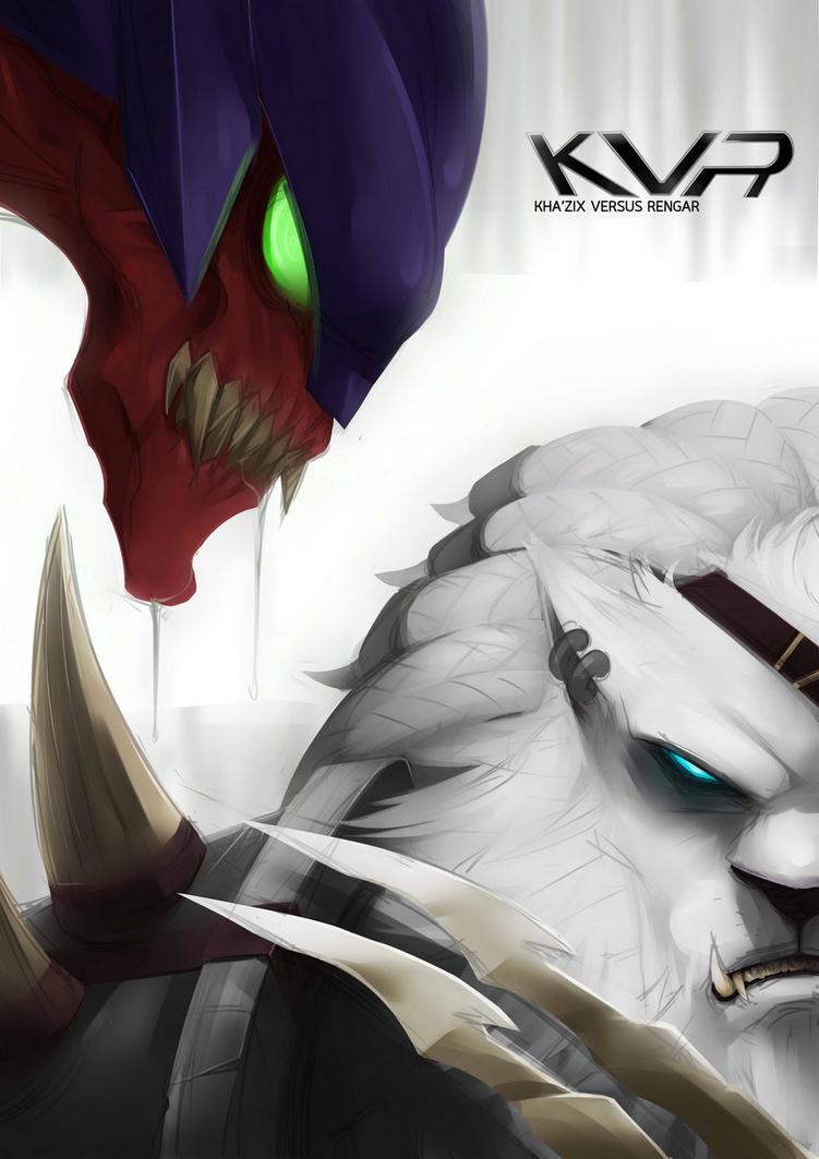 KVR Kha'zix Vs Rengar by Exaxuxer on DeviantArt