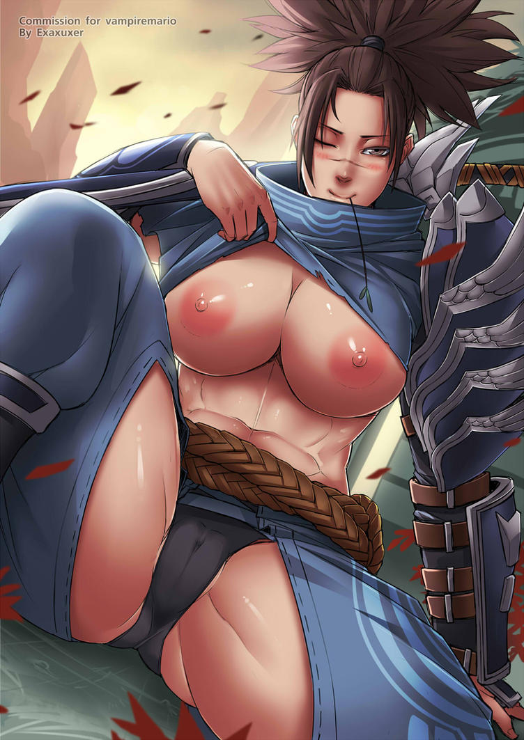 [Commission] Yasuo by Exaxuxer