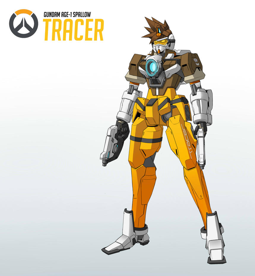 Gundam Tracer by Exaxuxer