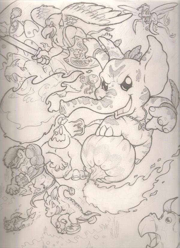 Vick Pumfire sketch by mattdog1000000