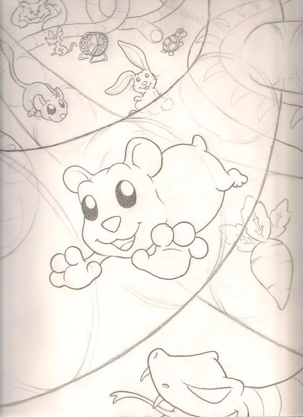 Hamster Tunnel sketch by mattdog1000000