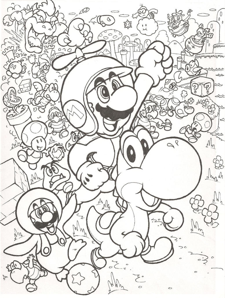 New Super Mario Bros. Wii by mattdog1000000 on DeviantArt