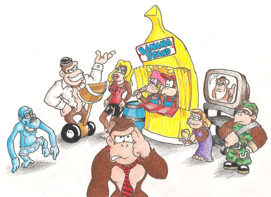 Arrested Development DKC by mattdog1000000