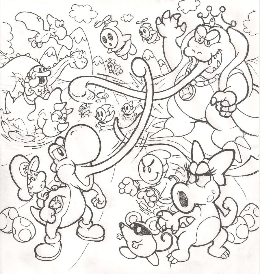 Ausgezeichnet Super Mario 3d Land Malvorlagen Ideen - Malvorlagen ...