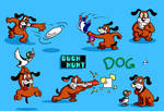 Duck Hunt Dog SSB colored