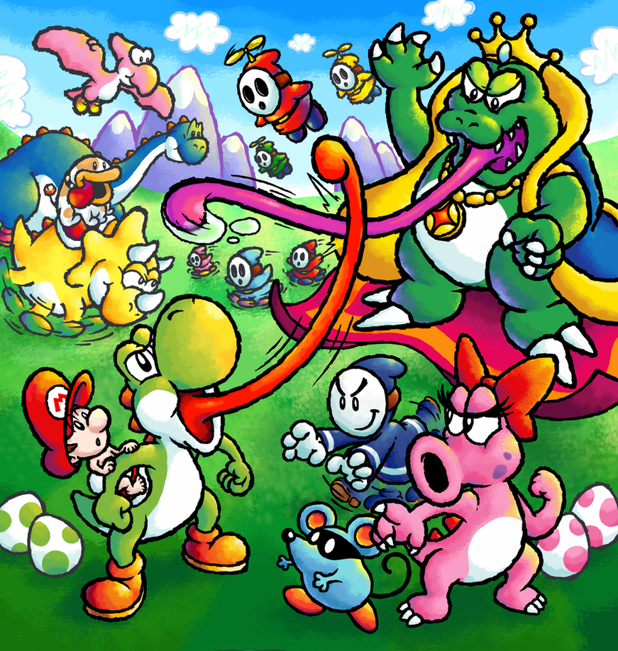 Yoshi's Island of Dreams by mattdog1000000
