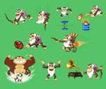 Cranky Kong Super Smash Bros.