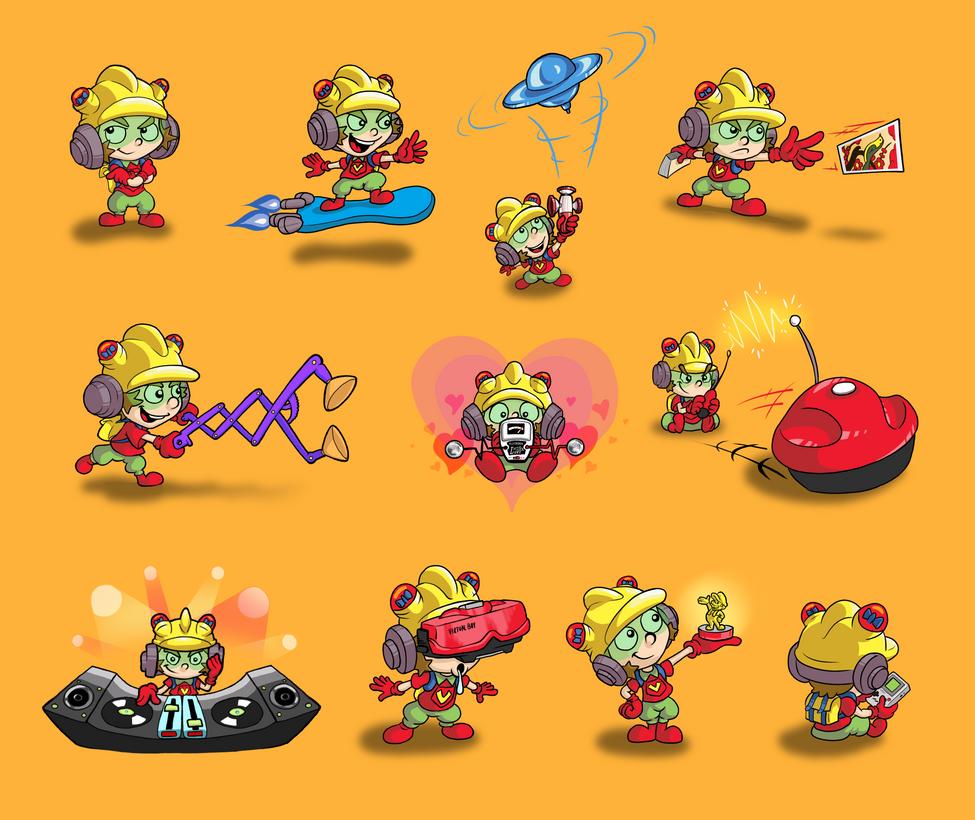 9-Volt Super Smash Bros. by mattdog1000000