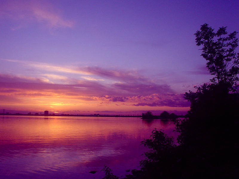 Purple And Pink Sky By Rainbow826 On Deviantart