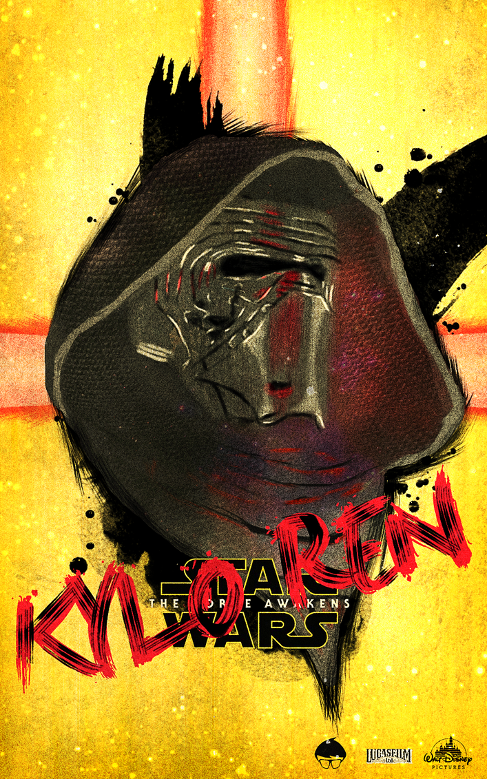 Kylo Ren by newtonheath92
