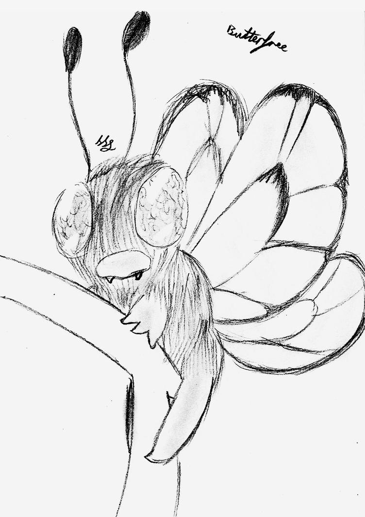 Realism - Butterfree by Strudel--Cutie4427