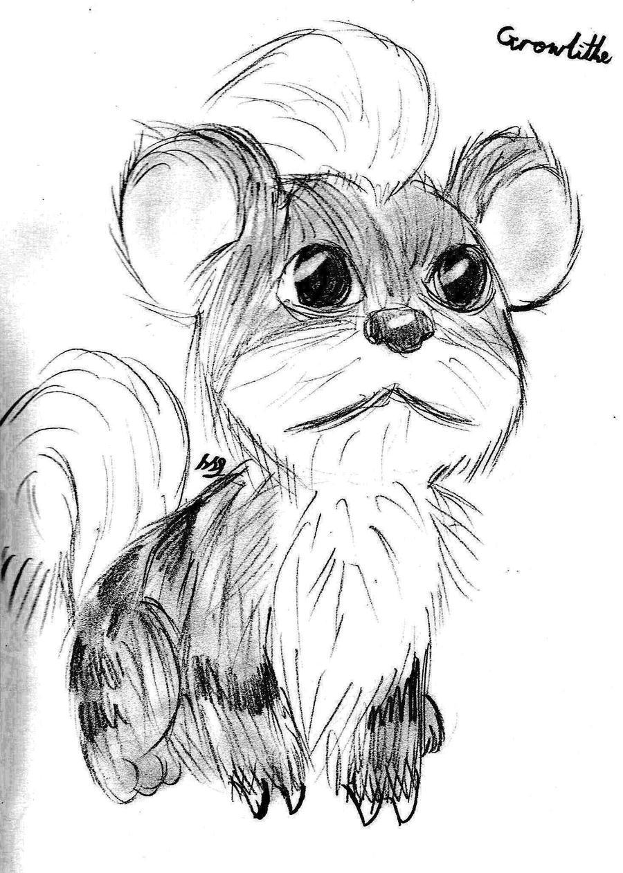 Realism - Growlithe by Strudel--Cutie4427