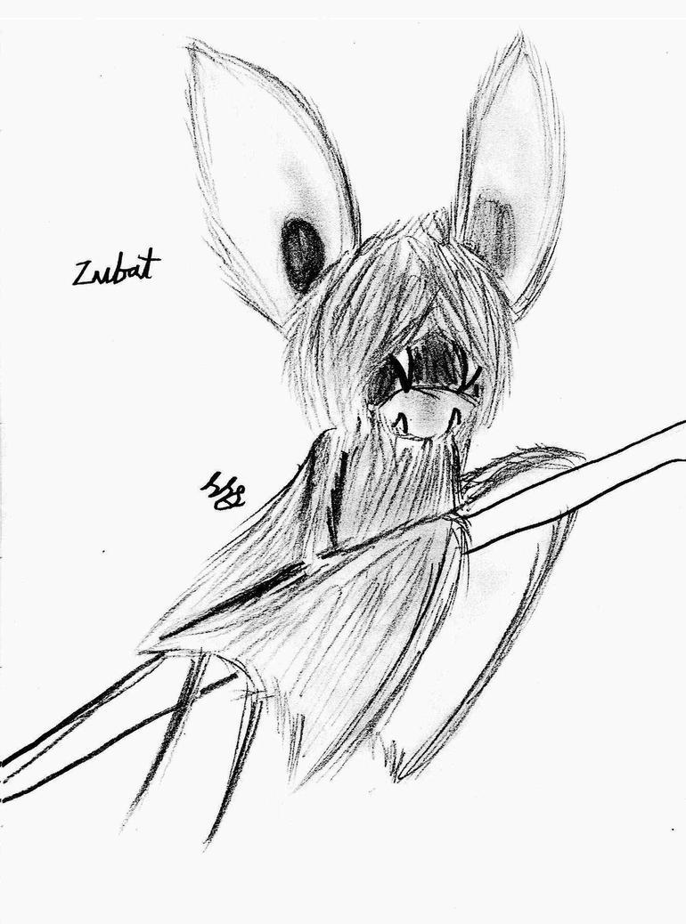 Realism - Zubat by Strudel--Cutie4427