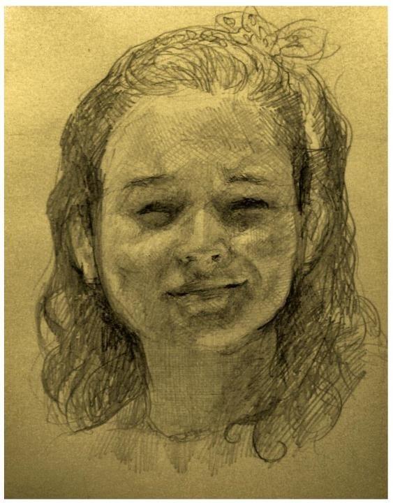 Anita ~ portrait by GHDrisdale