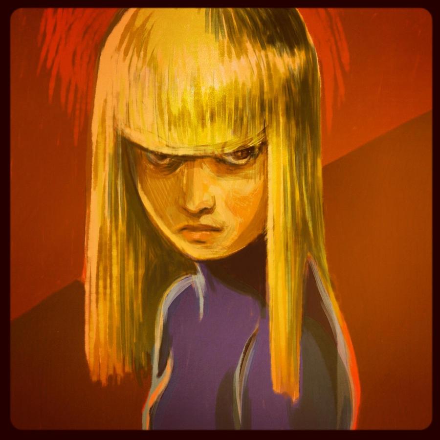 X-MEN ~ Illyana by GHDrisdale