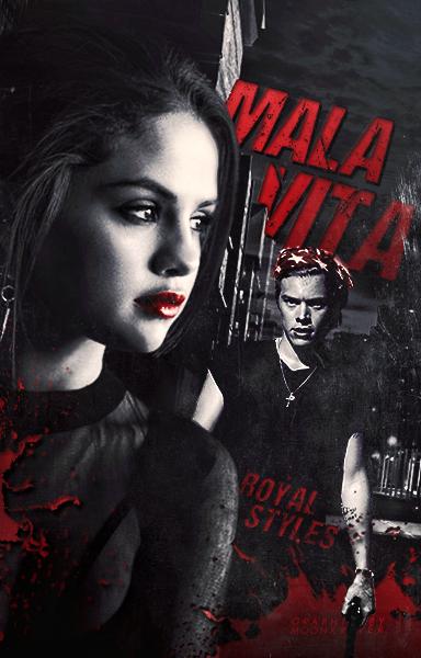 Malavita // Book Cover by moonxriver