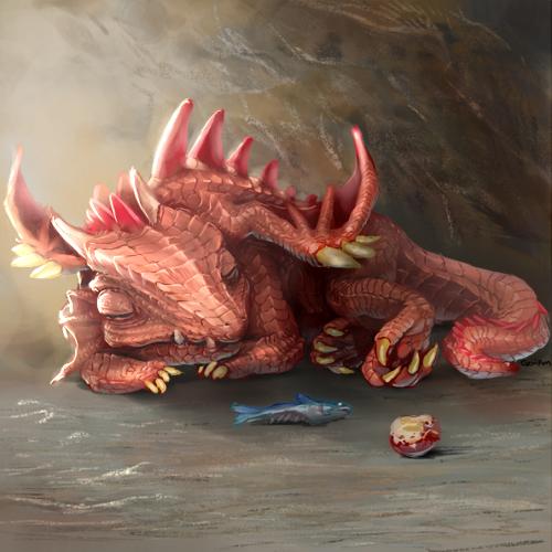 sleeping dragon by kevissykez - photo #24