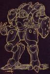 necromech hunter heavy armor