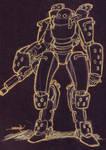 necromech hunter heavy armor 2