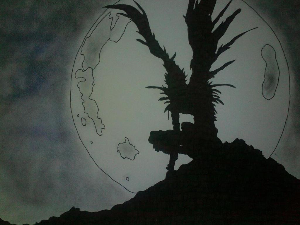 ryuk-death note by mindofolly on DeviantArt